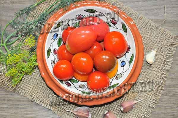 квашеные томаты как бочковые