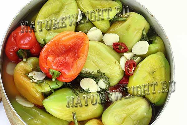 проквашенные овощи