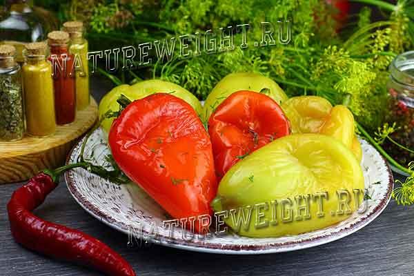 квашеный болгарский перец