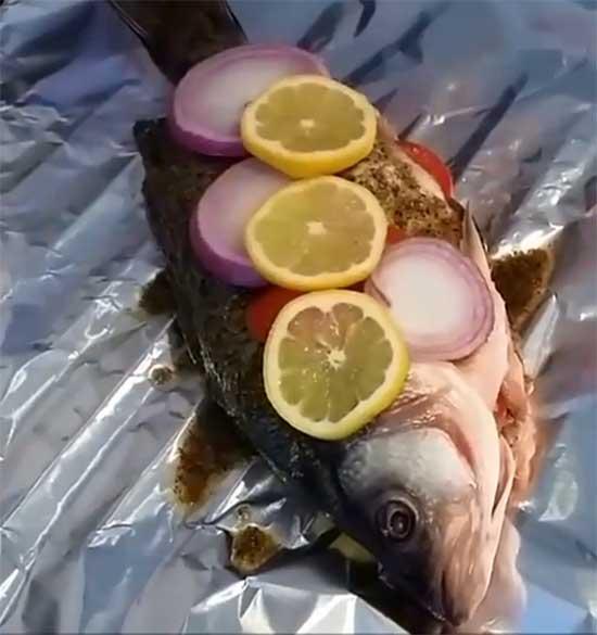 морской волк од лимоном