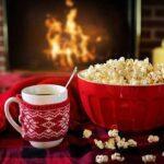 попкорн и чашка