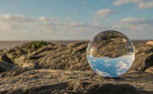 шарик воды