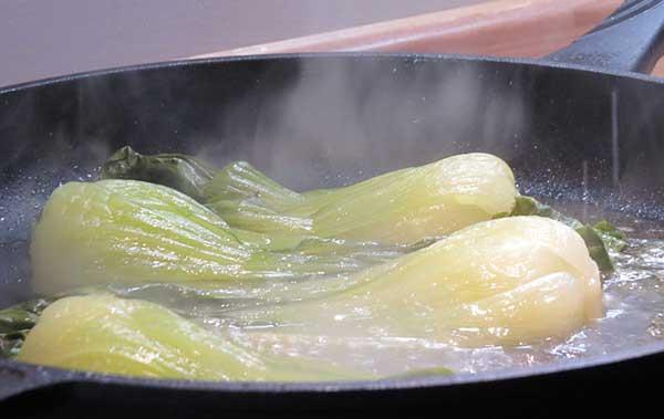 тушение овоща