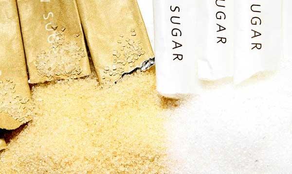 сахар в упаковке