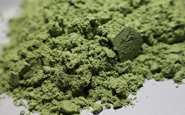зеленый порошок