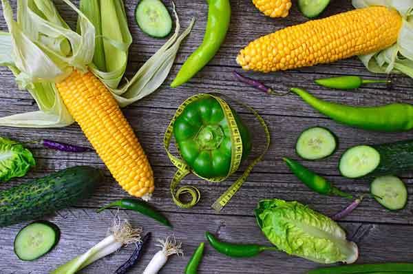 кукуруза и перец