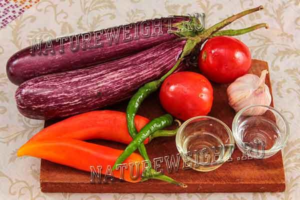 ингредиенты для зимней закуски