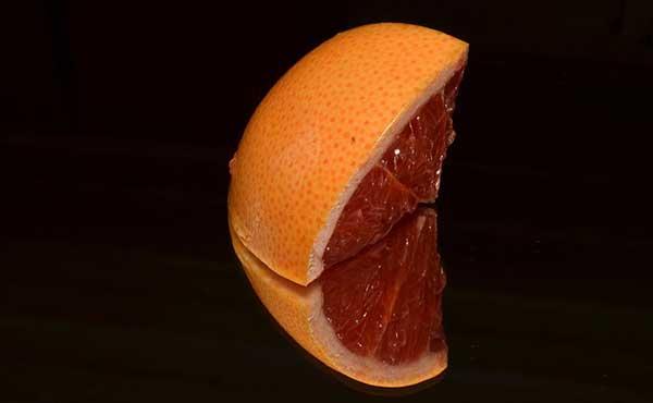 кусочек грейпфрута