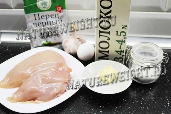 перечень продуктов для приготовления сосисок из куриного филе