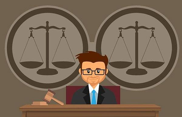 судья в суде